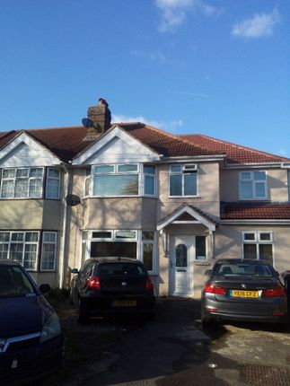 Thumbnail Semi-detached house to rent in Hayes End Road, Hayes