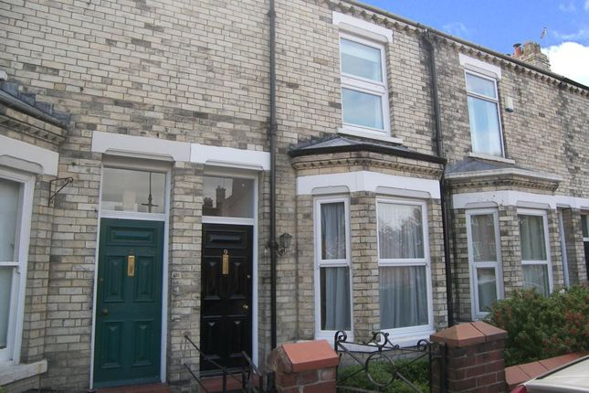 Thumbnail Terraced house to rent in Alma Terrace, York