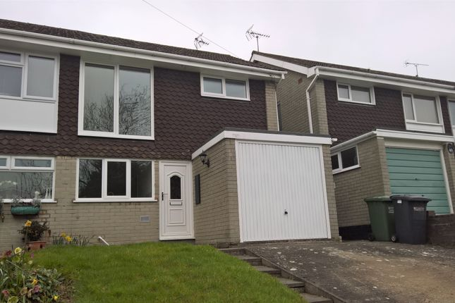 Thumbnail Semi-detached house to rent in Ferndale Crescent, Kidderminster