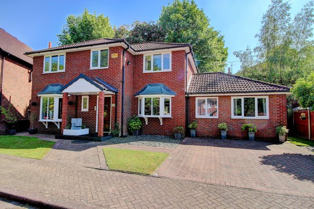 Thumbnail Detached house for sale in Carlton Place, Hazel Grove, Stockport