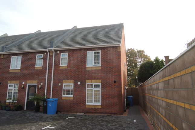 Thumbnail Terraced house to rent in Dudley Gardens, Parkstone