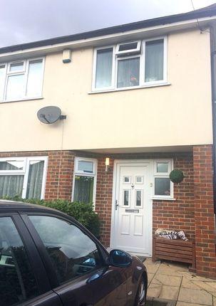 Thumbnail Semi-detached house to rent in Masson Avenue, Ruislip