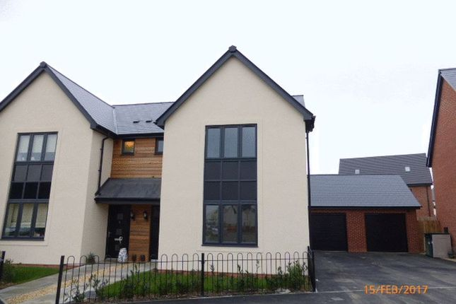 Thumbnail Semi-detached house to rent in Jasper Close, Bishops Cleeve, Cheltenham
