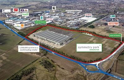 Thumbnail Light industrial to let in Symmetry Park Darlington Tornado Way, Darlington, Teeside
