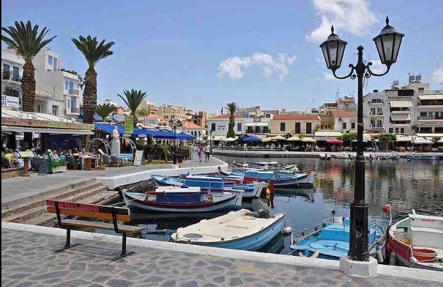 Agios Nikolaos Bustling Lakeside