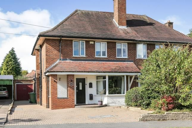 Thumbnail Semi-detached house for sale in Fallowfield Road, Solihull, West Midlands
