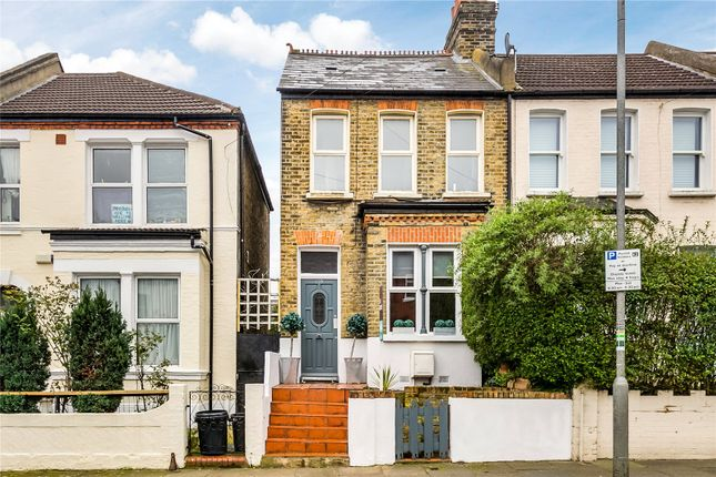 Thumbnail End terrace house for sale in Himley Road, Tooting Broadway, London