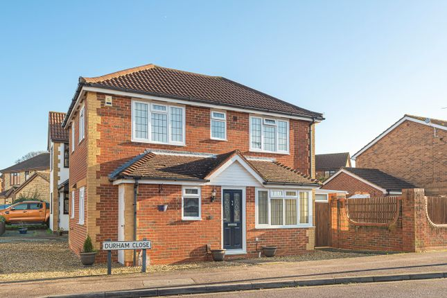 Thumbnail Detached house for sale in Durham Close, Flitwick, Bedfordshire