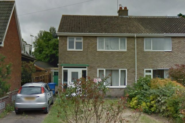 Thumbnail Detached house to rent in Fieldview, Norwich