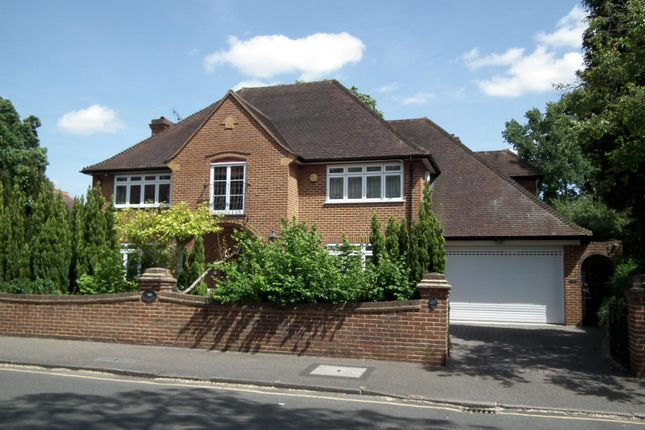 Thumbnail Detached house to rent in Burwood Park Road, Walton On Thames, Surrey