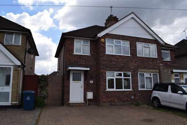 Thumbnail Semi-detached house to rent in Boxtree Lane, Harrow Weald