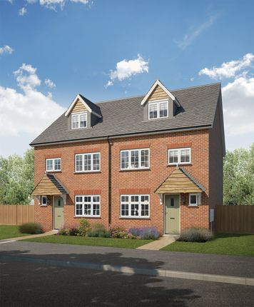 Thumbnail Semi-detached house for sale in Amington Green, Mercian Way, Tamworth, Staffordshire