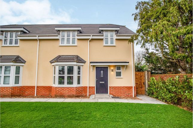 Thumbnail Semi-detached house for sale in London Road, West Kingsdown