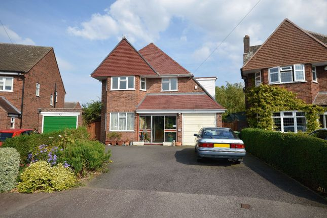 Thumbnail Detached house for sale in Hill Way, Oadby, Leicester