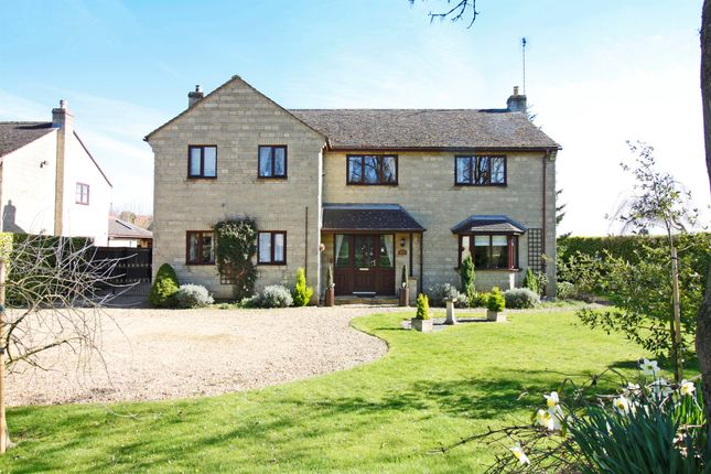 Thumbnail Detached house for sale in Bainton Road, Tallington, Stamford