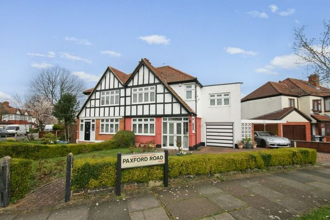 Thumbnail Semi-detached house for sale in Paxford Road, Wembley