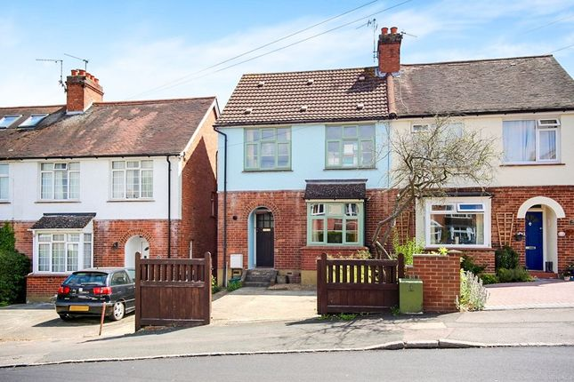 Thumbnail Semi-detached house for sale in Goldsmid Road, Tonbridge