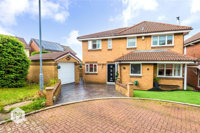 Thumbnail Detached house for sale in Bidston Close, Bury