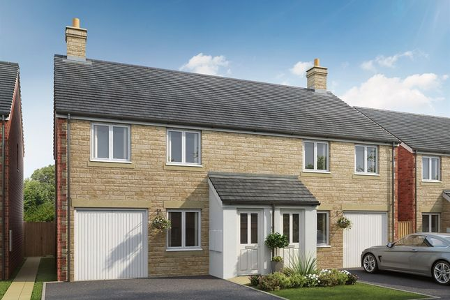 """3 bed semi-detached house for sale in """"The Chatsworth"""" at Townsend Road, Witney OX29"""