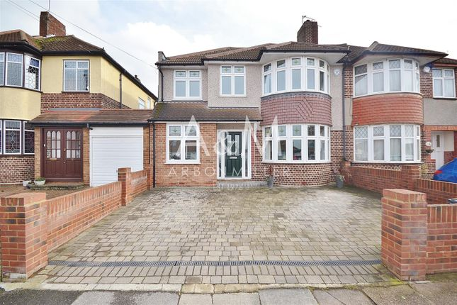 Thumbnail Semi-detached house for sale in Strafford Avenue, Clayhall, Ilford