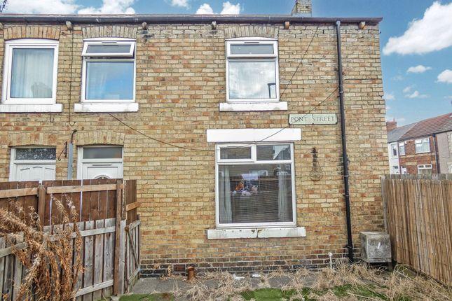 3 bed terraced house for sale in Pont Street, Ashington NE63
