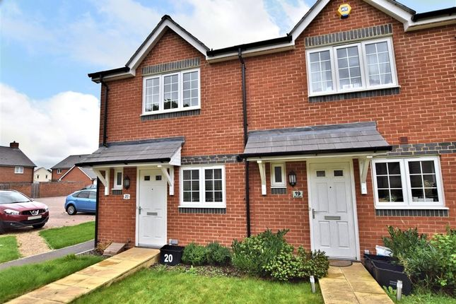 Thumbnail End terrace house for sale in Elk Path, Three Mile Cross, Reading