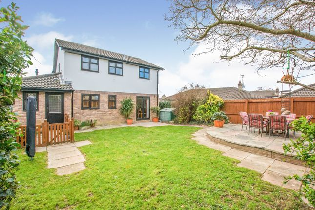 Thumbnail Detached house for sale in Clos Tyla Bach, St. Mellons, Cardiff