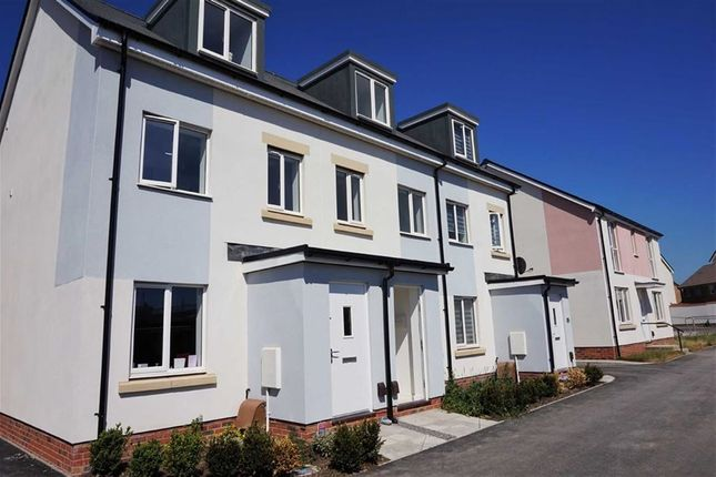 Thumbnail Town house to rent in Glider Avenue, Weston-Super-Mare