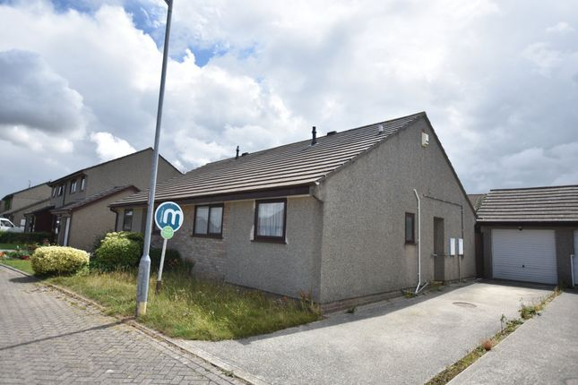Thumbnail Semi-detached bungalow for sale in Huntersfield, Tolvaddon, Camborne