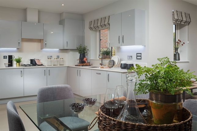 "Typical Kitchen of ""The Enniskerry"" at Avery Hill Road, London SE9"