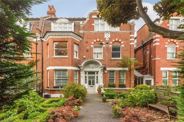 Exterior of Frognal Lane, Hampstead, London NW3