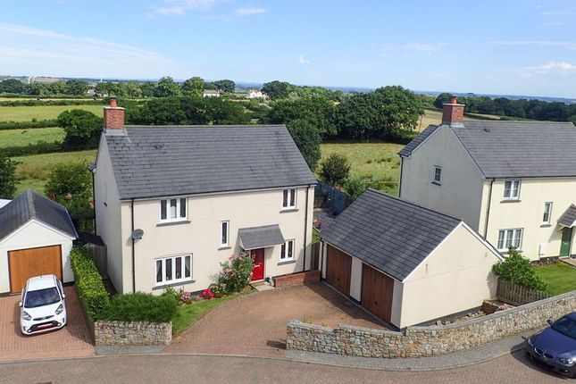 Thumbnail Detached house for sale in Chapel Park, Spreyton, Crediton