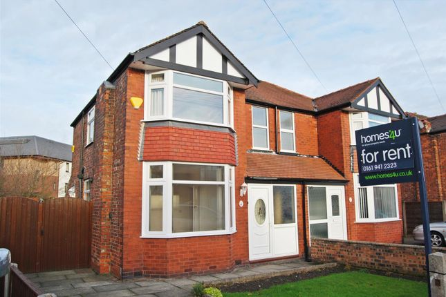 Thumbnail Semi-detached house to rent in Brook Avenue, Timperley, Altrincham