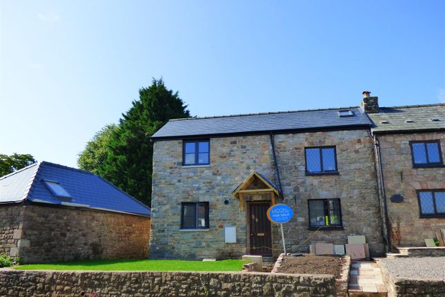 Thumbnail End terrace house for sale in Shirenewton, Chepstow