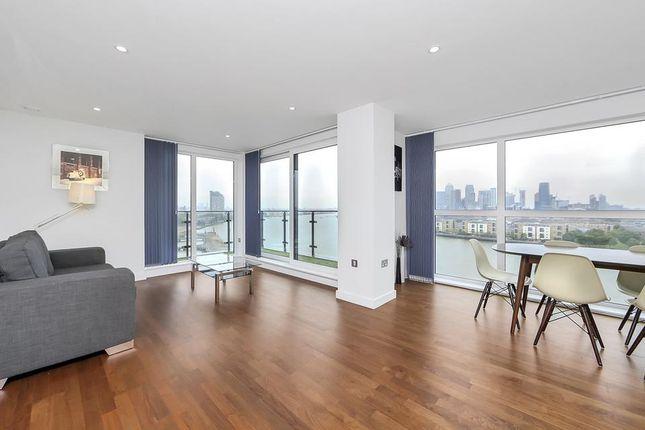 Thumbnail Flat to rent in Wharf Street, London