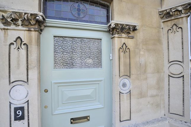 Front Door of Top Floor Flat, 9 Newbridge Road, Bath, Somerset BA1