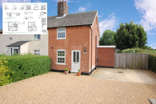 2 bed semi-detached house for sale in Cromwell Road, Ringsfield, Beccles