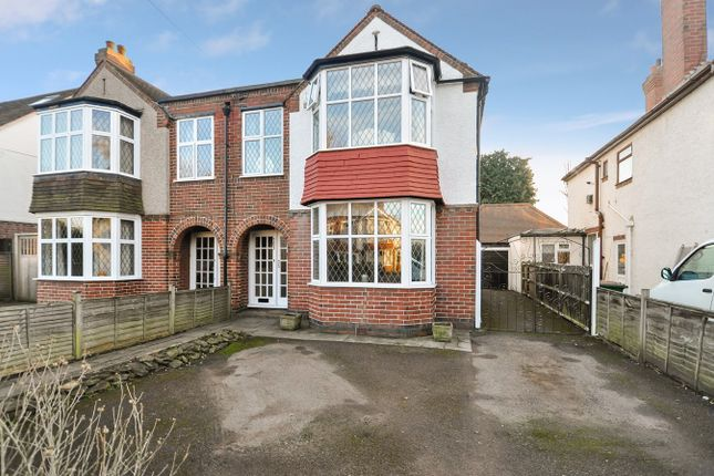 Thumbnail Semi-detached house for sale in Beechwood Avenue, Earlsdon, Coventry