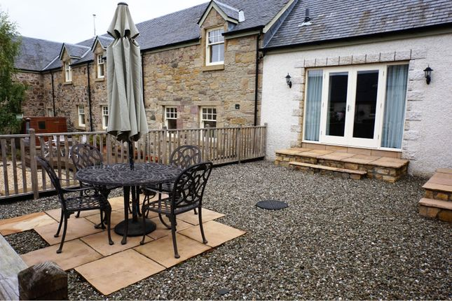 Patio of Rossie Steadings, Perth PH2