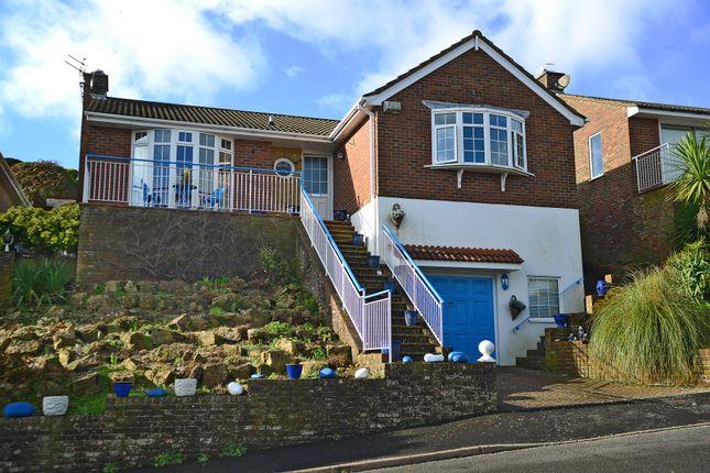 Thumbnail Detached bungalow for sale in Wanderdown Close, Ovingdean, Brighton