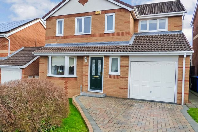 Thumbnail Detached house for sale in Fox Lea Walk, Seghill, Cramlington