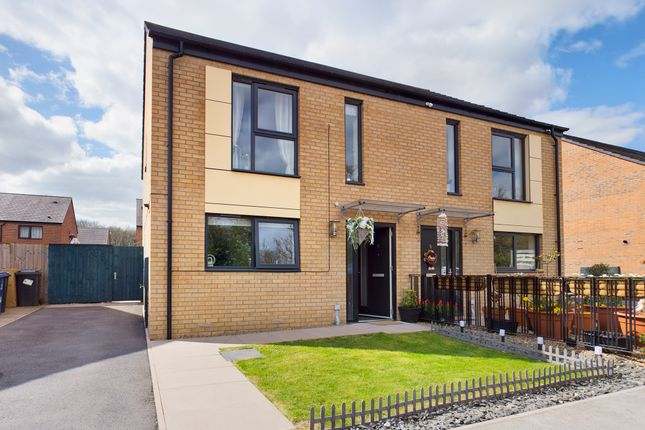 Thumbnail Semi-detached house for sale in Libra Drive Balby, Balby, Doncaster