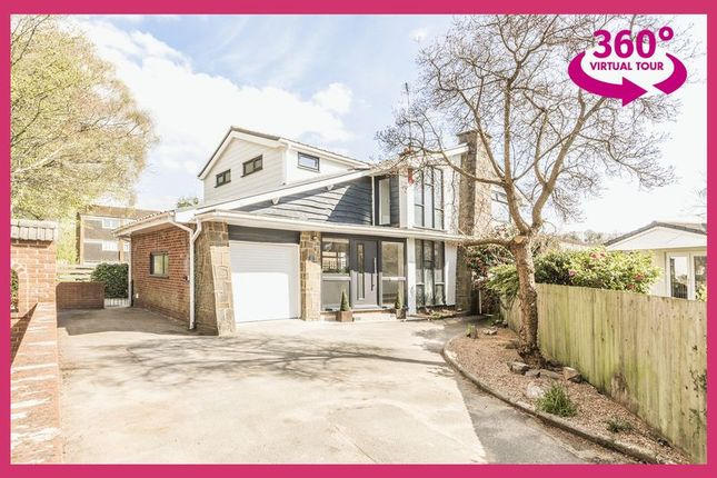 Thumbnail Detached house for sale in Oaklands, Ponthir, Newport