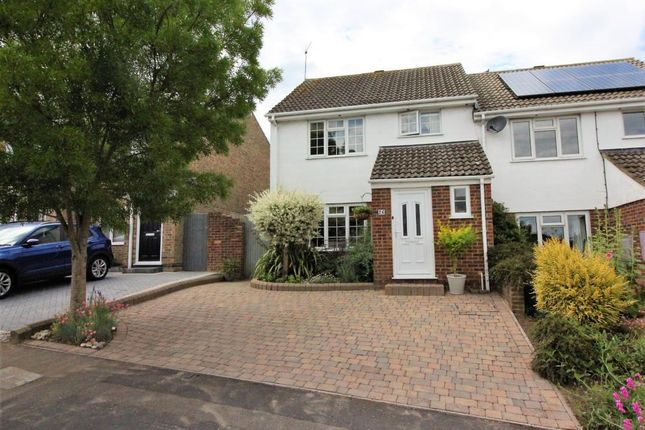 Semi-detached house for sale in Wordsworth Avenue, Yateley