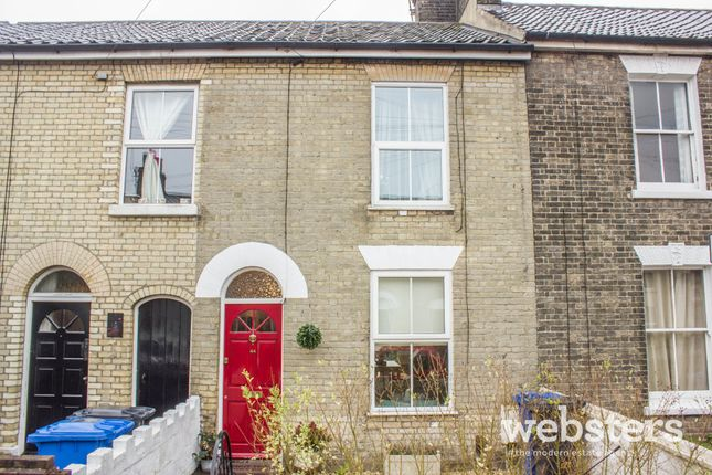 Thumbnail 2 bed terraced house to rent in Newmarket Street, Norwich