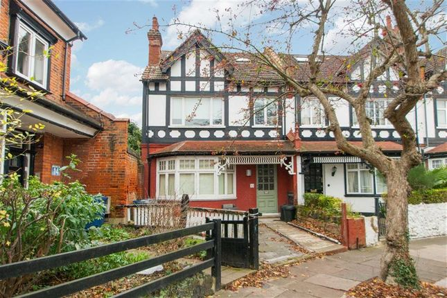 Thumbnail End terrace house for sale in Highlands Avenue, London