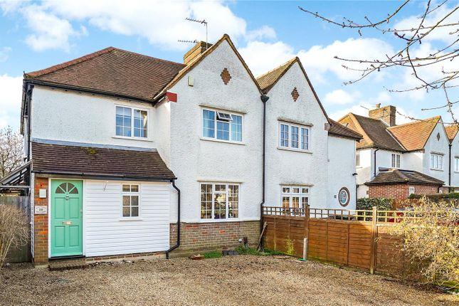 Thumbnail Semi-detached house for sale in Woodside Avenue, Amersham, Buckinghamshire