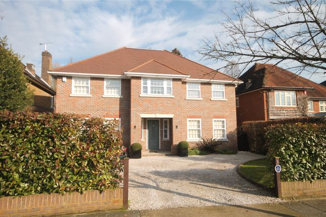 Thumbnail Detached house for sale in Bentley Way, Stanmore, Middlesex
