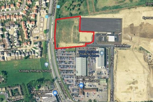 Thumbnail Land for sale in 2 Acre Development Site Normanby Road, Scunthorpe, North Lincolnshire