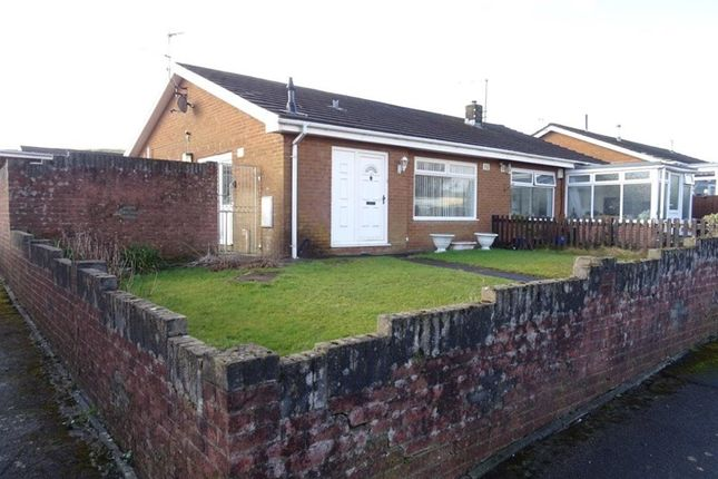 Thumbnail Semi-detached bungalow for sale in St. Fagans Grove, Castle Park, Merthyr Tydfil